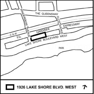 1926 Lake Shore Blvd W Site Plan
